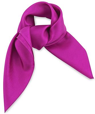Scarf silk fuchsia