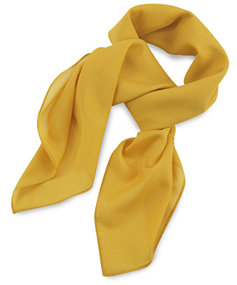 Scarf yellow