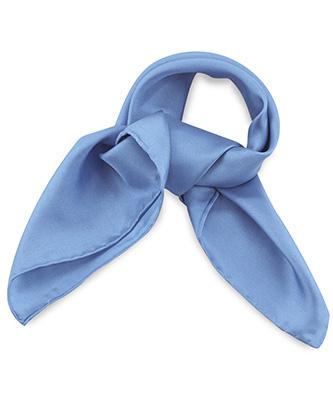 Scarf Silk ice blue
