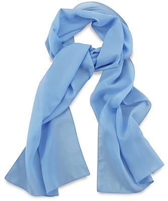 Scarf uni light blue