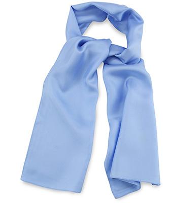 Scarf light blue uni