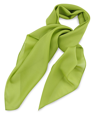 Scarf lime green