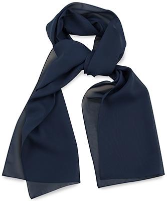Scarf uni navy blue