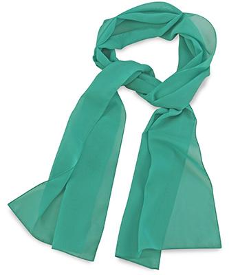 Scarf uni mint green