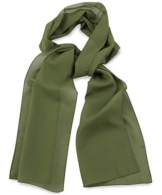 Scarf uni army green