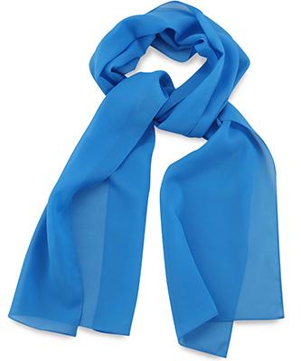 Scarf uni process blue