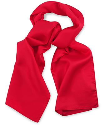 Scarf red uni