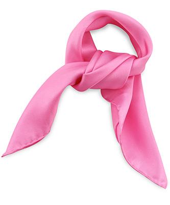 Scarf silk pink