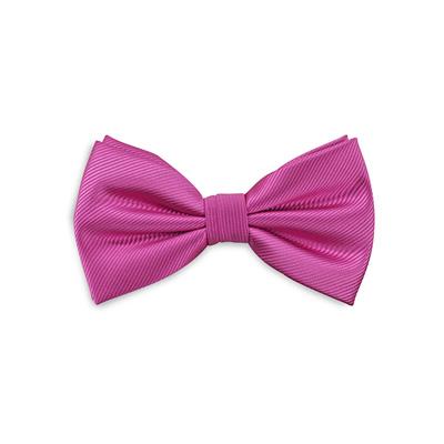 Bow tie fuchsia repp