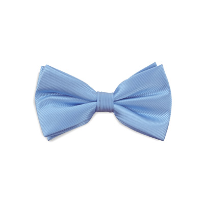Bow tie light blue repp
