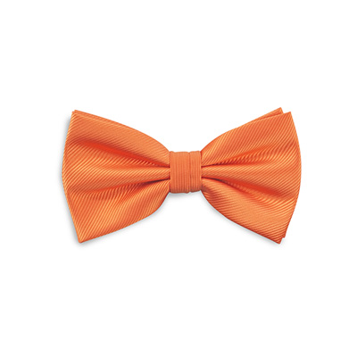 Bow tie orange repp