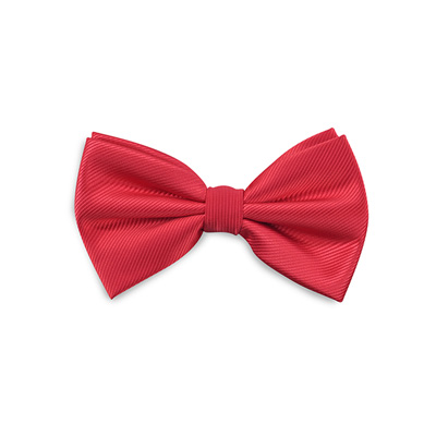 Bow tie red repp