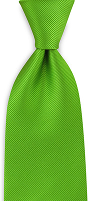 Necktie repp apple green
