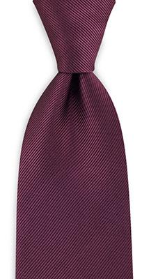Necktie repp aubergine