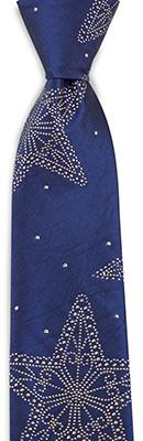 Necktie Falling Stars