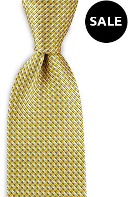 Necktie basket weave