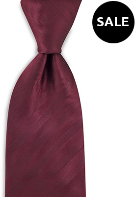 Necktie bordeaux red