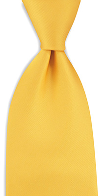 Necktie yellow