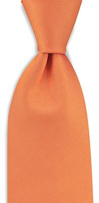 Necktie orange