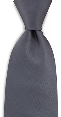 Necktie antracite grey