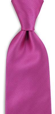 Necktie fuchsia repp
