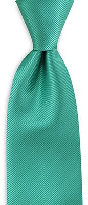 Necktie mint green repp
