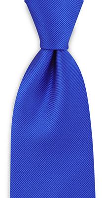 Necktie repp royal blue