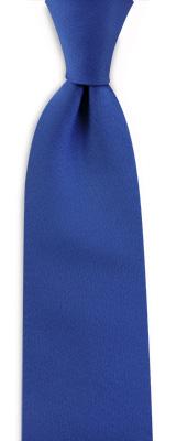 Necktie royal blue narrow