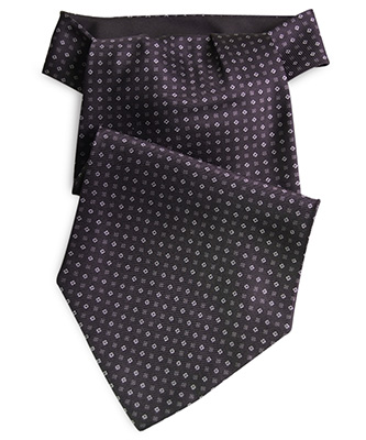 Cravat black / grey