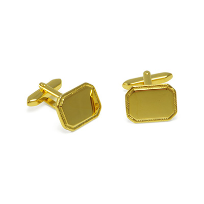 Cuff links Gold classic