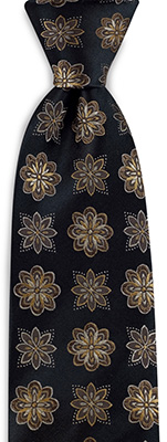 Necktie Autumn Flower