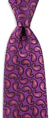 Necktie Paisley Fan