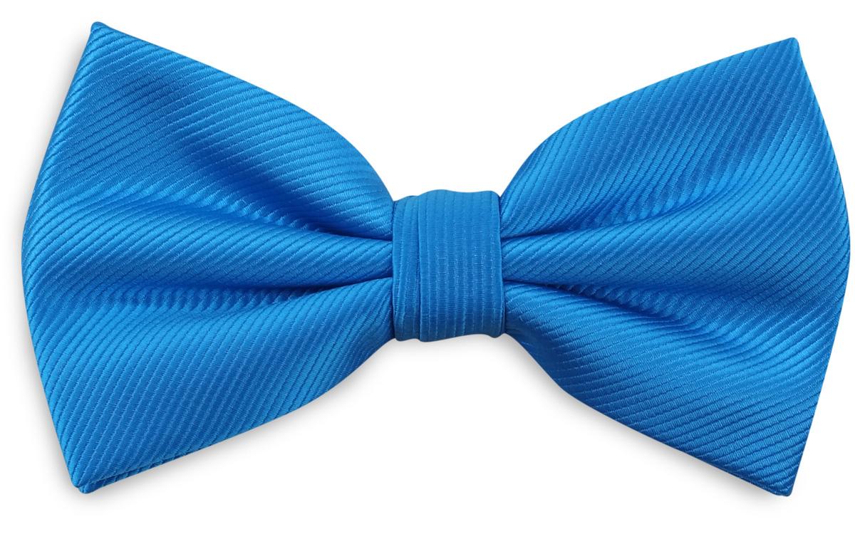 Bow Tie Process Blue Repp Bow Ties